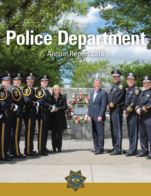 Cover of Reno Police Department Annual Report
