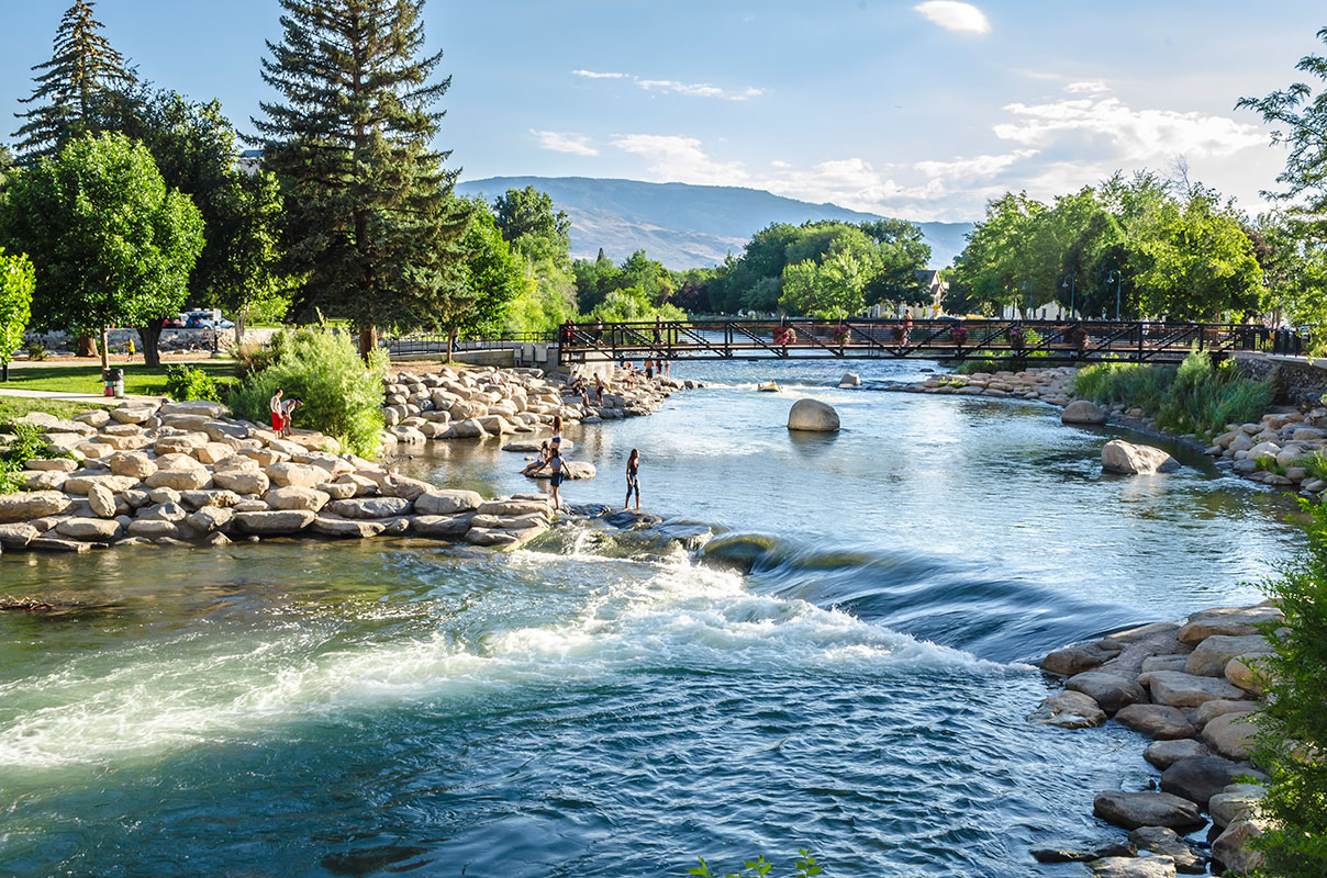 Truckee River in Summer