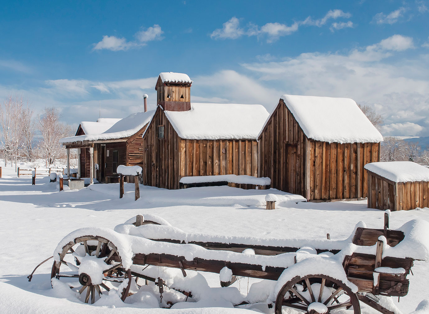 Bartley Ranch in Winter, Photo by Linda Seibert