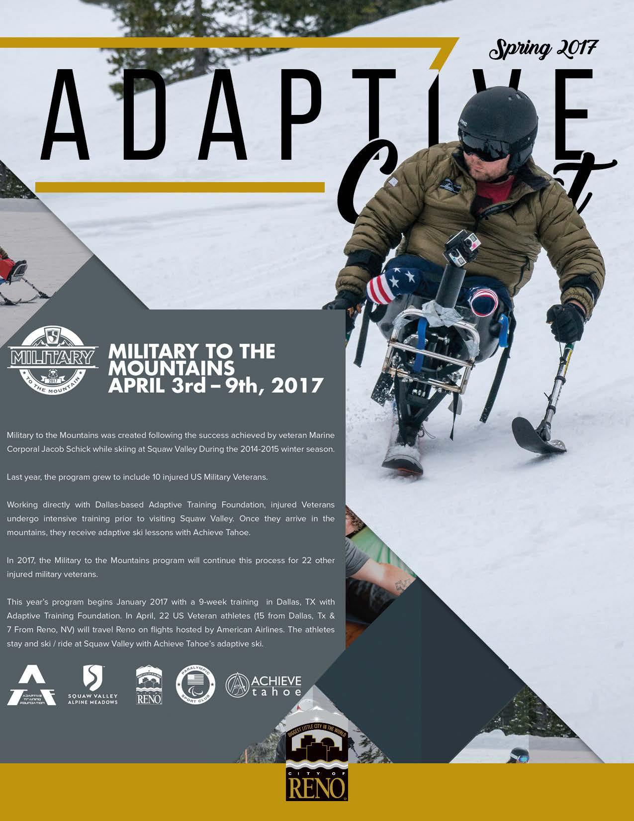 Adaptive Connect Spring 2017 Cover