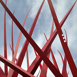 Reno Star Abstract Sculpture