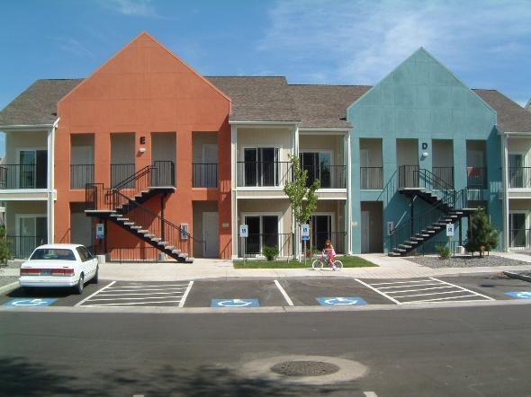 Cottonwood Village: WCHC provided funds to assist with the construction of this multi-family affoardable housing complex on Linden Street in Reno, NV