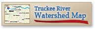 Truckee River Watershed Map