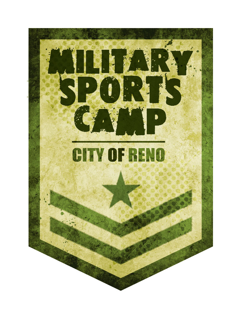 Military Sports Camp City of Reno logo