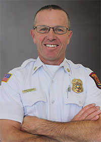 Interim Fire Chief David Cochran