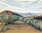 Shaffer - Sunset in the Buttermilks