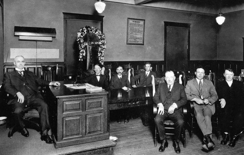 Reno City Council circa 1900s