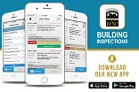 Download the Building Inspections App on the Google Play Store or iTunes App Store