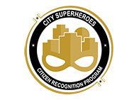 City Superheroes Citizen Recognition Program Logo