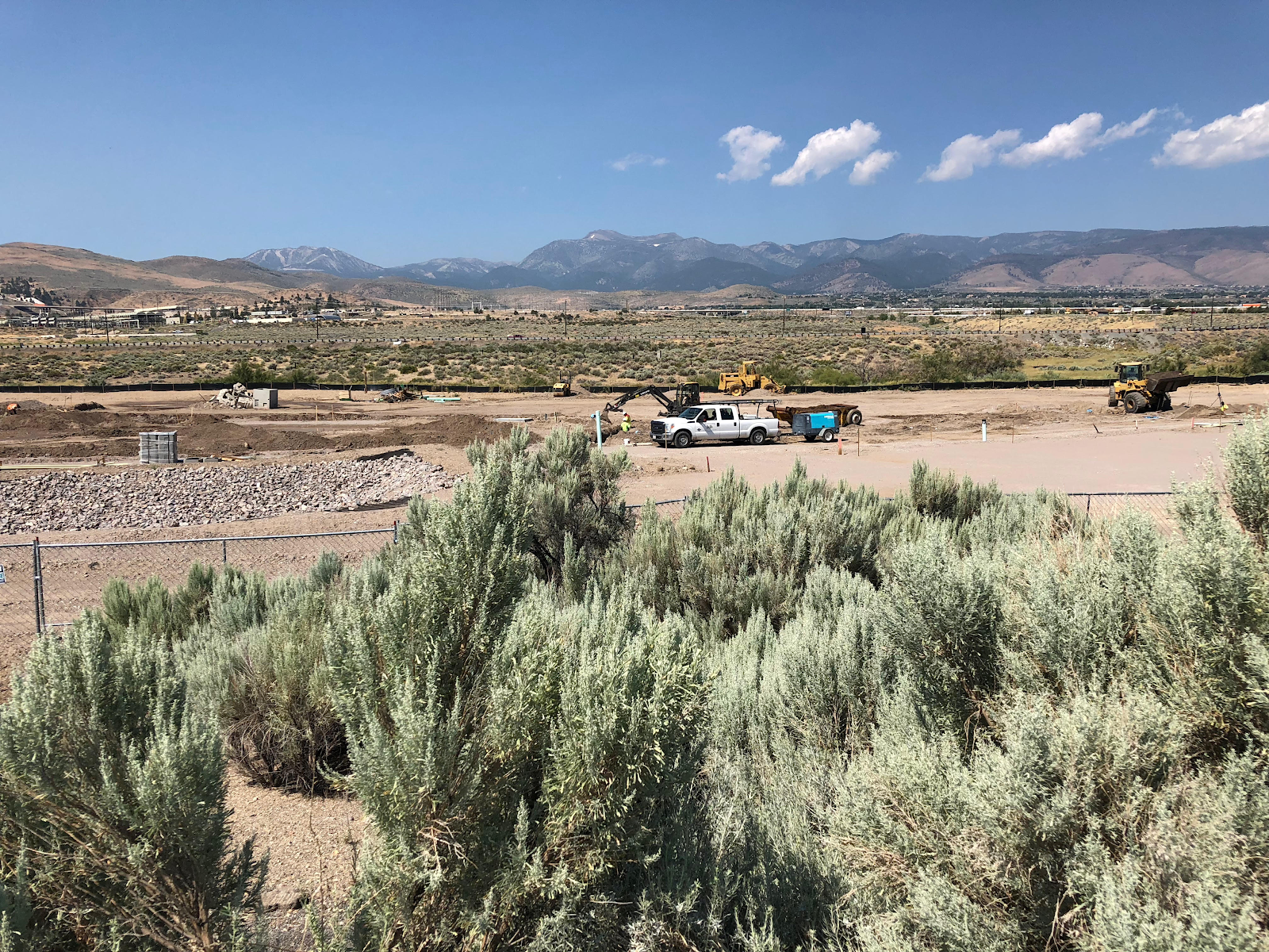 The 360-unit project is underway in South Reno.