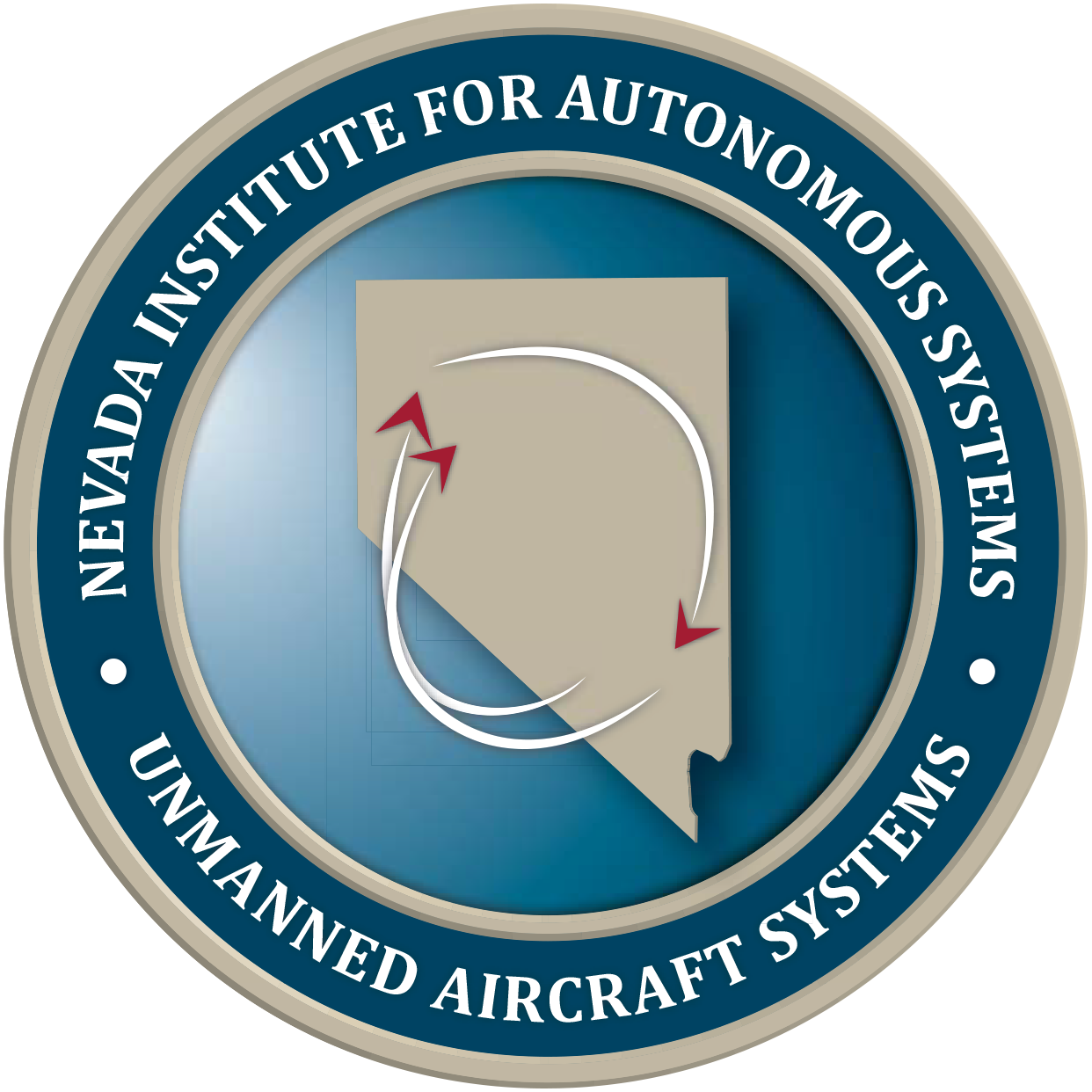 Nevada Institute for Autonomous Systems - Unmanned Aircraft Systems Logo