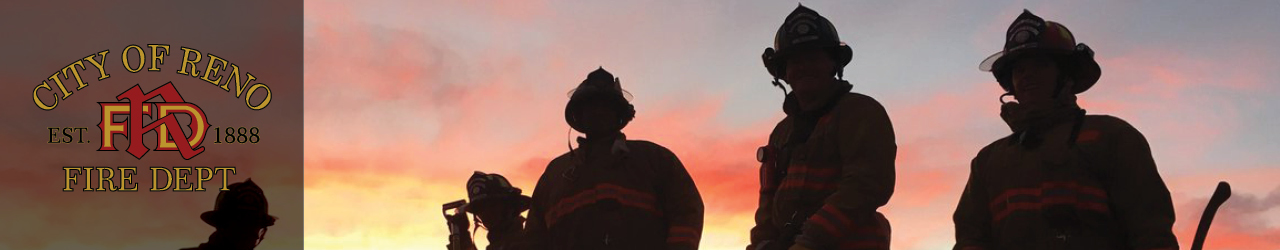 Firefighters silhouettes