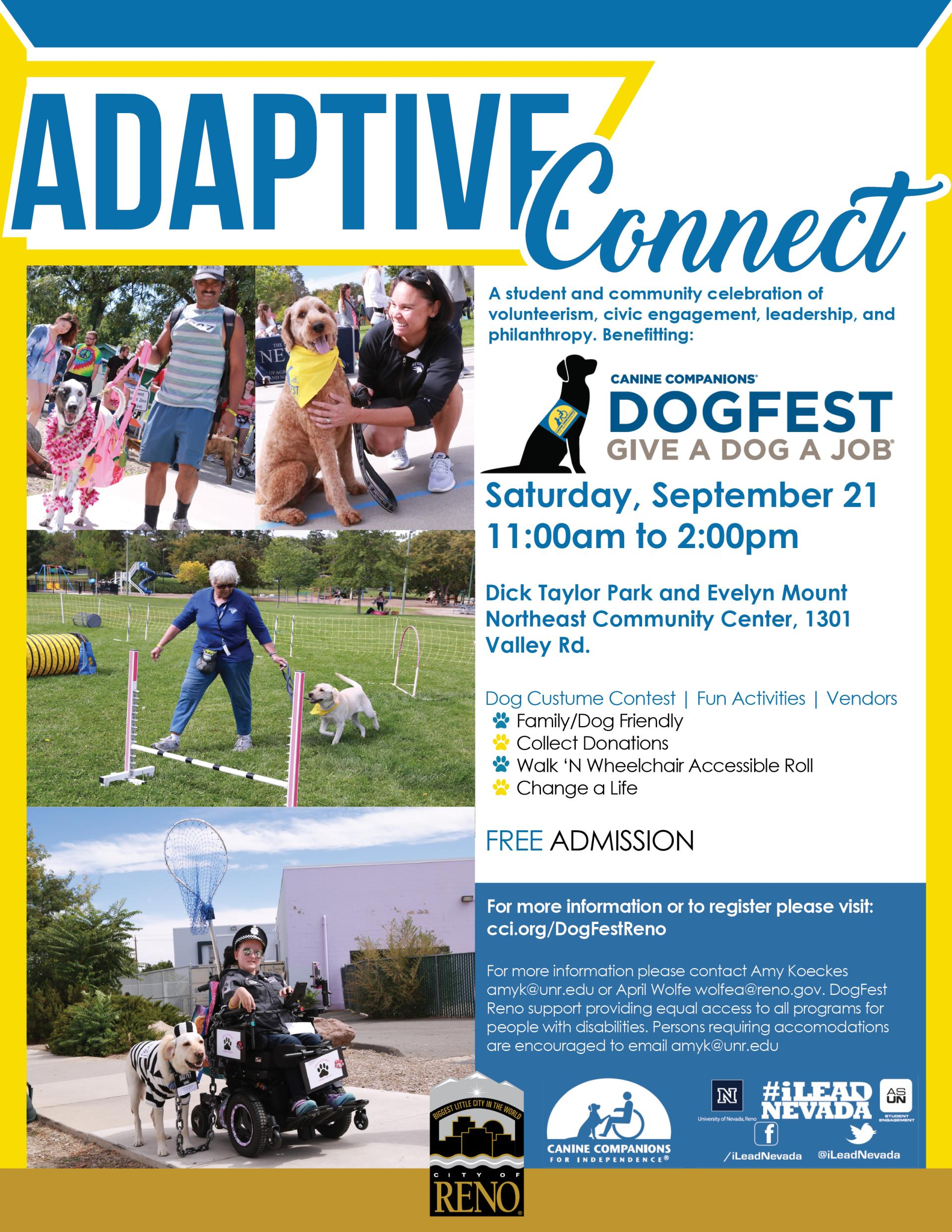 AdaptiveConnect-Fall2019 Cover - DogFest