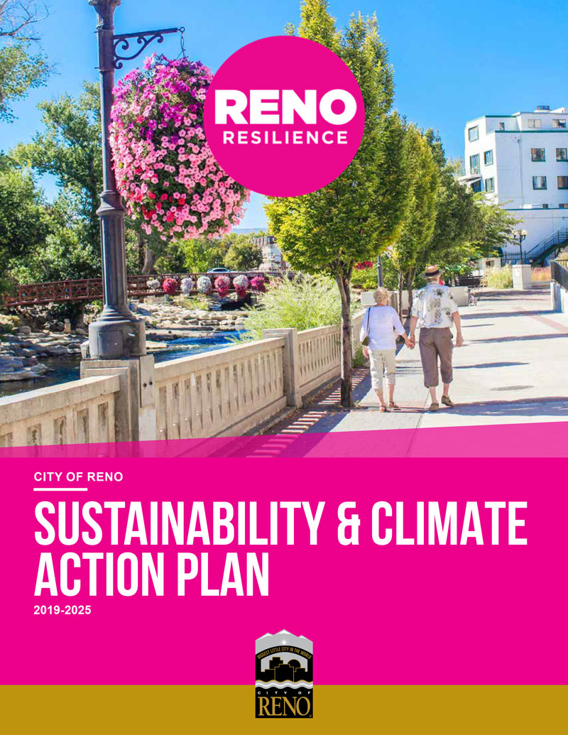 Cover of Sustainability and Climate Action Plan