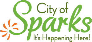 The City of Sparks logo.
