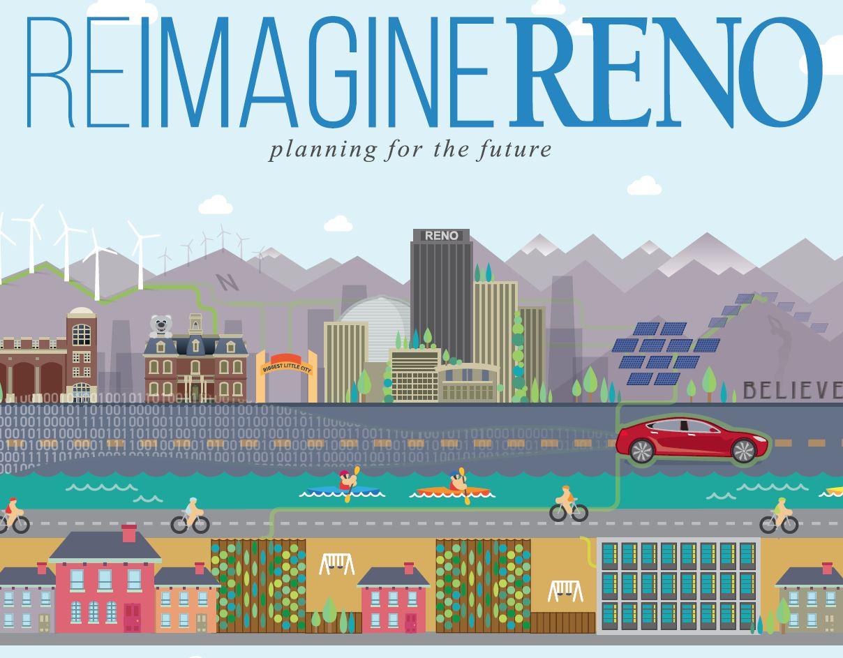 ReImagine Reno logo